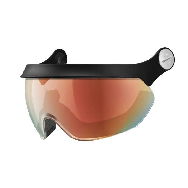 Slokker Ski Visor MF Multi-Layer + Photocromatic rot Ersatzscheibe