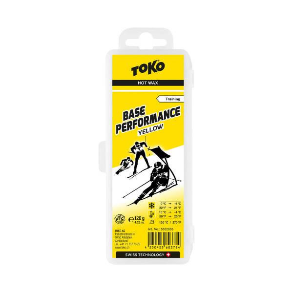 Toko Base Performance Yellow 120g Skiwachs