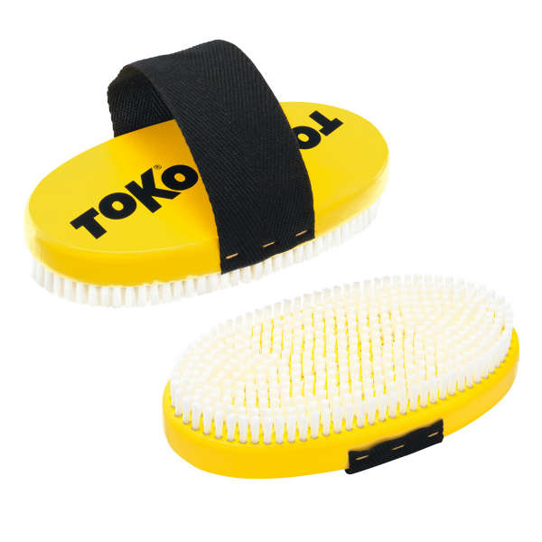 Toko Base Brush oval Nylon with strap Bürste