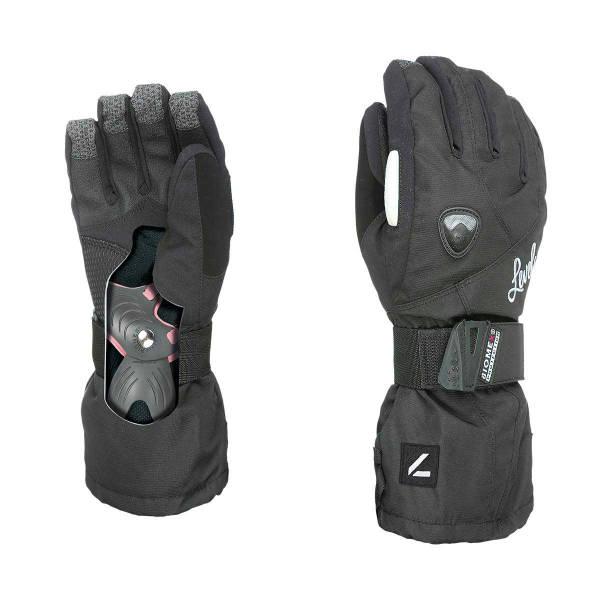 Butterfly Handschuhe Damen   schwarz   Größe 6,5