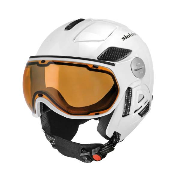 Slokker Raider Pro Visor Polar Adaptiv Skihelm  | Größe 58-60